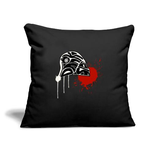 """Dark Side - Throw Pillow Cover 17.5"""" x 17.5"""""""