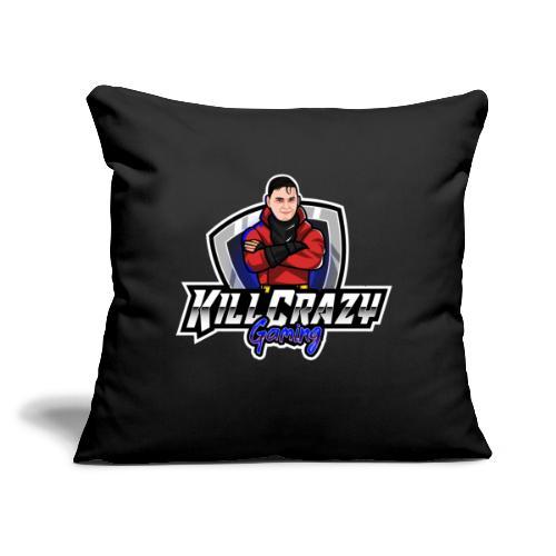 "KillCrazy Gaming - Throw Pillow Cover 17.5"" x 17.5"""