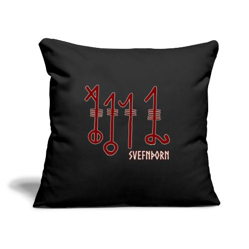 """Svefnthorn (Version 1) - Throw Pillow Cover 17.5"""" x 17.5"""""""