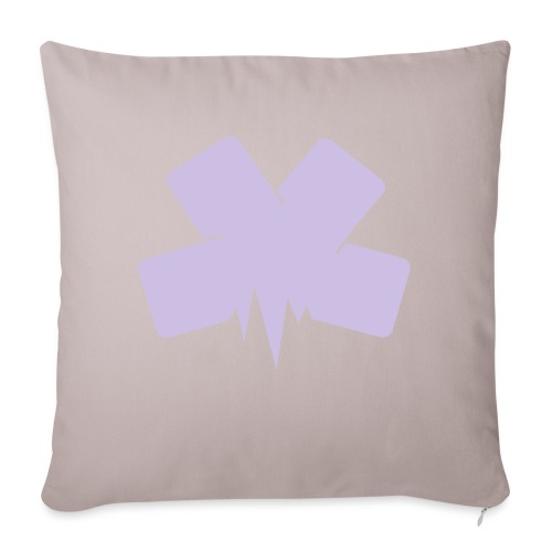 "Tote Bag - Throw Pillow Cover 17.5"" x 17.5"""