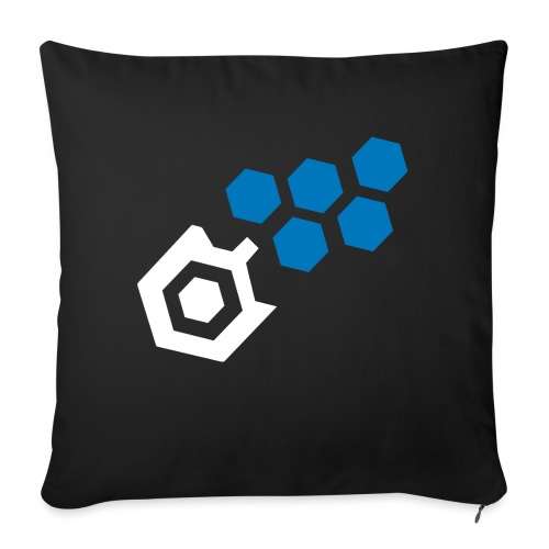 "NLS Midnight Edition - Throw Pillow Cover 17.5"" x 17.5"""