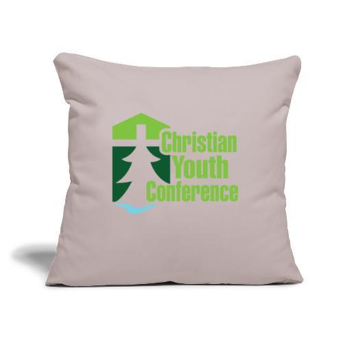 """CYC Logo - Throw Pillow Cover 17.5"""" x 17.5"""""""