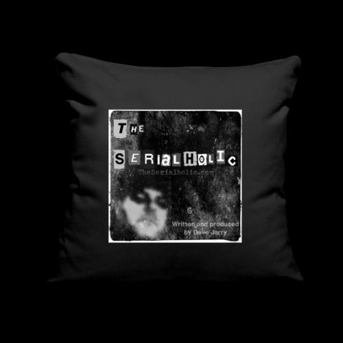 "Podcast Logo - Throw Pillow Cover 18"" x 18"""