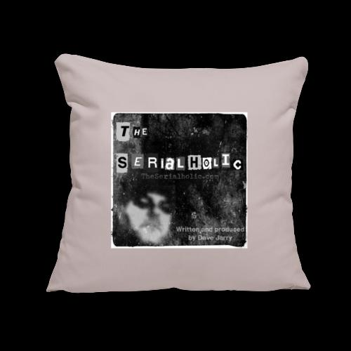 "Podcast Logo - Throw Pillow Cover 17.5"" x 17.5"""