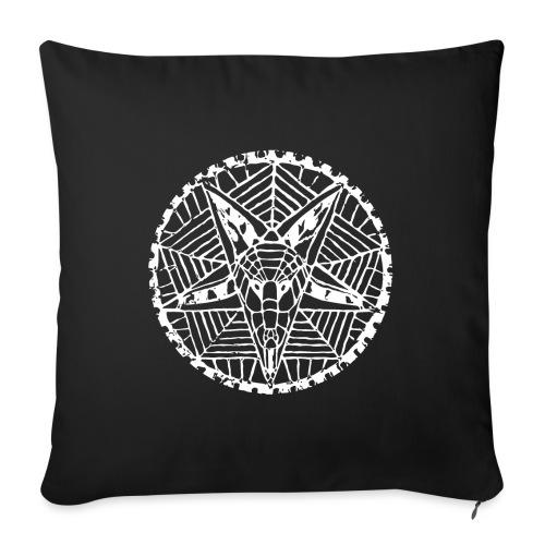 "Corpsewood Baphomet - Throw Pillow Cover 18"" x 18"""
