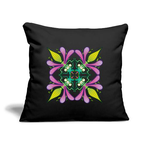 """Glowing insects meeting in the middle of the night - Throw Pillow Cover 17.5"""" x 17.5"""""""