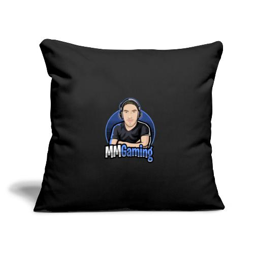 """MMGaming Logo - Throw Pillow Cover 17.5"""" x 17.5"""""""