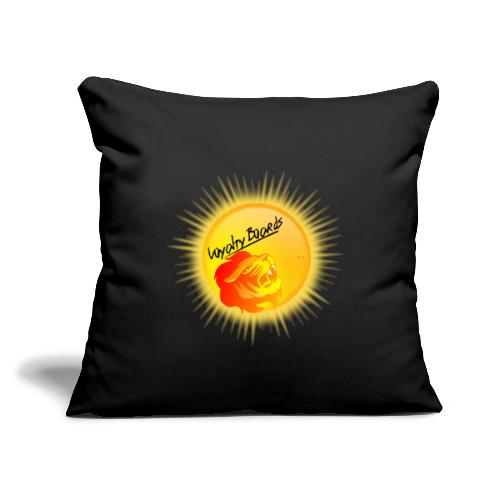 "LoyaltyBoardsNewLogo 10000 - Throw Pillow Cover 17.5"" x 17.5"""