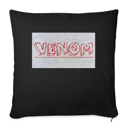 """Venom - Throw Pillow Cover 18"""" x 18"""""""
