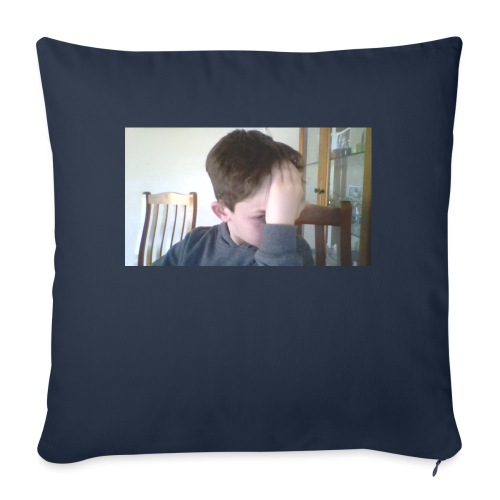 "Luiz FAce!! - Throw Pillow Cover 17.5"" x 17.5"""