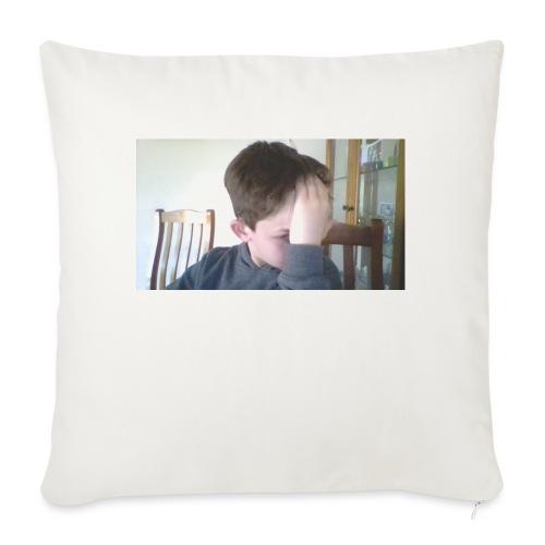 """Luiz FAce!! - Throw Pillow Cover 18"""" x 18"""""""