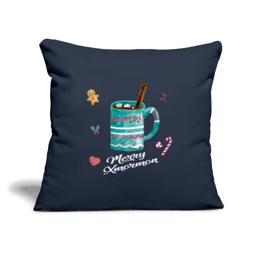 "Merry Xmormon - Throw Pillow Cover 17.5"" x 17.5"""