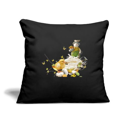 """easter bunny easter egg holiday - Throw Pillow Cover 17.5"""" x 17.5"""""""