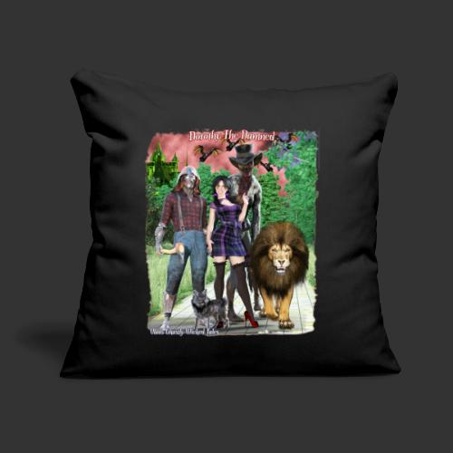 """Ghastly Wicked Tales Vampire Dorothy The Damned - Throw Pillow Cover 17.5"""" x 17.5"""""""