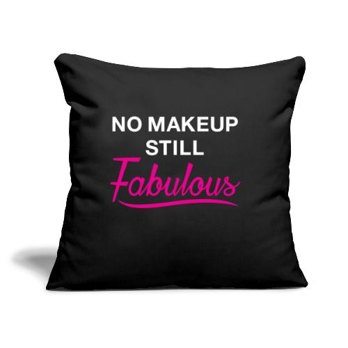 """NoMakep png - Throw Pillow Cover 17.5"""" x 17.5"""""""