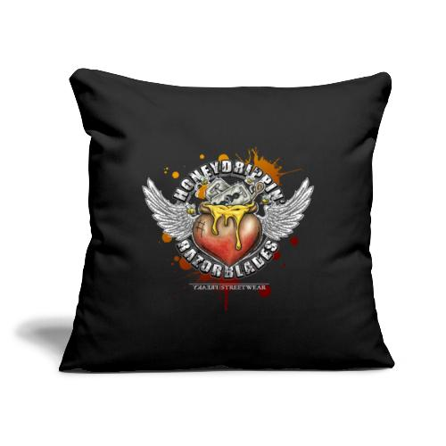 """Honeydripping razorblades - Throw Pillow Cover 17.5"""" x 17.5"""""""