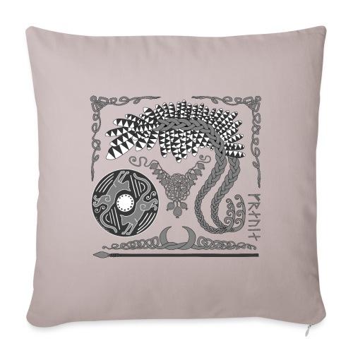 "Freya - Throw Pillow Cover 18"" x 18"""