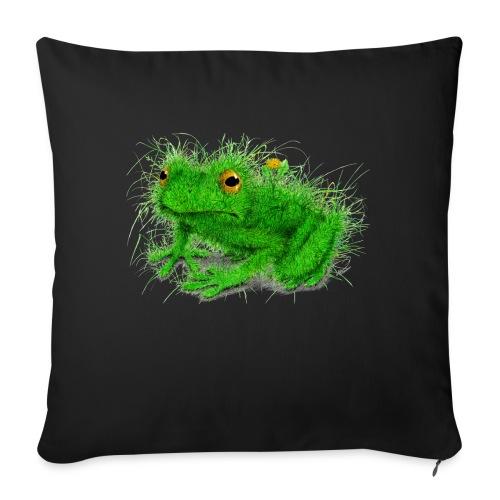 "Grass Frog - Throw Pillow Cover 17.5"" x 17.5"""