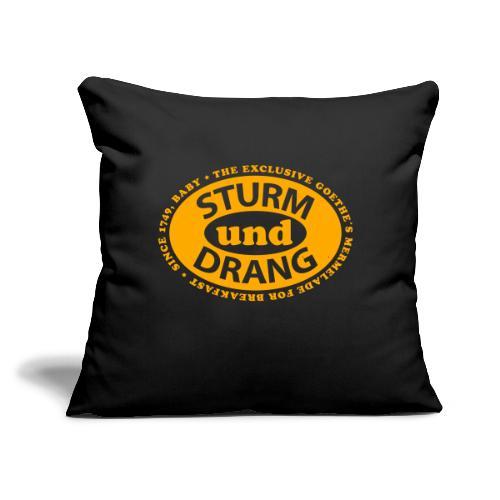 "Sturm und Drang - Throw Pillow Cover 17.5"" x 17.5"""