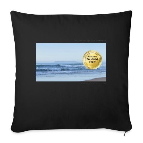 """Beach Collection 1 - Throw Pillow Cover 18"""" x 18"""""""