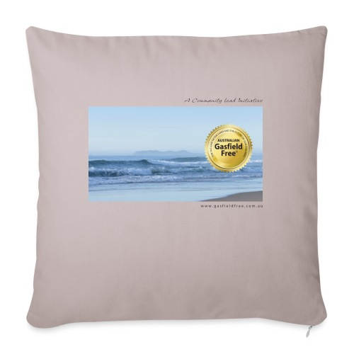 "Beach Collection 1 - Throw Pillow Cover 17.5"" x 17.5"""