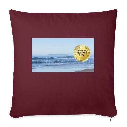 """Beach Collection 1 - Throw Pillow Cover 17.5"""" x 17.5"""""""