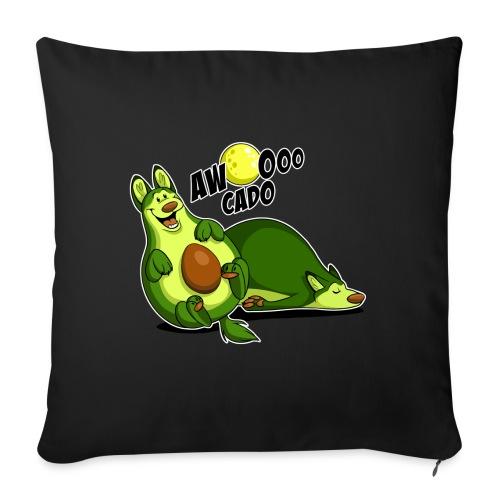 "Awooocado - Throw Pillow Cover 17.5"" x 17.5"""