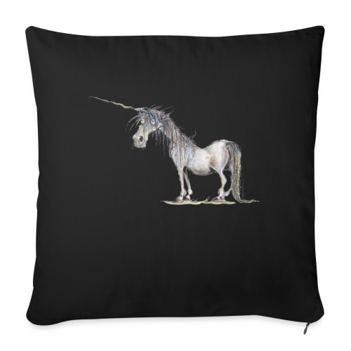 "Last Unicorn - Throw Pillow Cover 17.5"" x 17.5"""