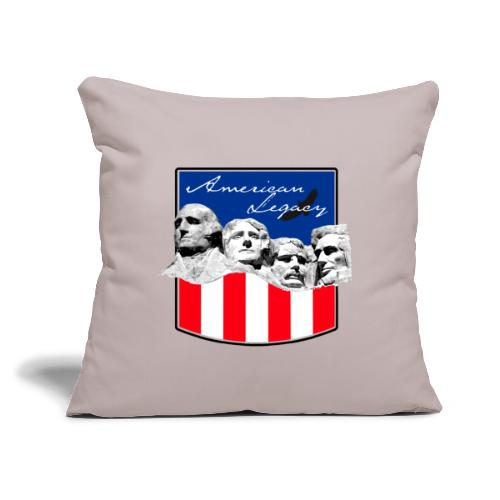"""AMERICAN LEGACY - Throw Pillow Cover 17.5"""" x 17.5"""""""