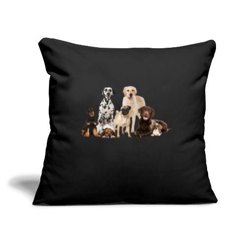 "German shepherd puppy dog breed dog - Throw Pillow Cover 17.5"" x 17.5"""