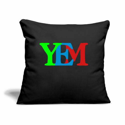 "YEMpolo - Throw Pillow Cover 17.5"" x 17.5"""