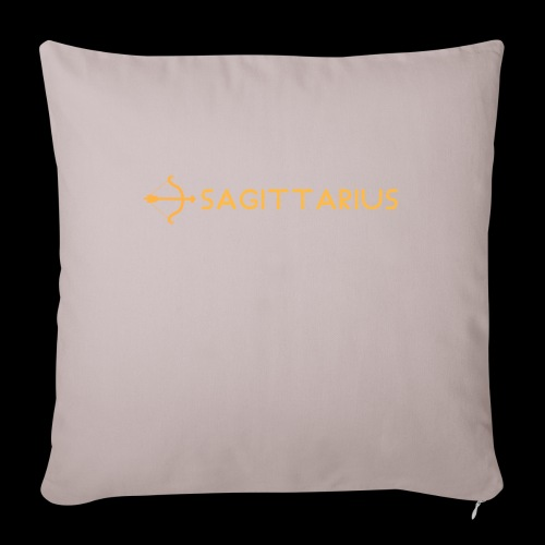 "Sagittarius - Throw Pillow Cover 18"" x 18"""