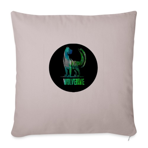 """Wolverine - Throw Pillow Cover 17.5"""" x 17.5"""""""