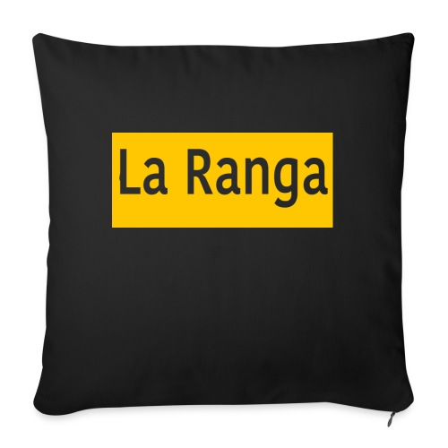 "La Ranga gbar - Throw Pillow Cover 18"" x 18"""