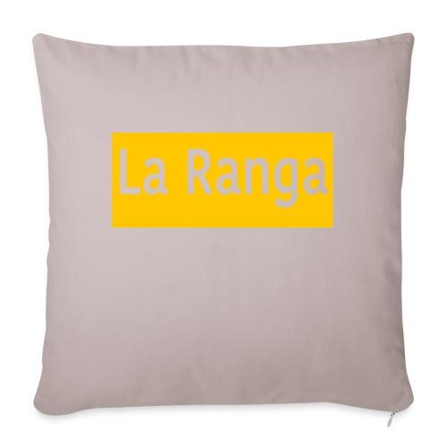 "La Ranga gbar - Throw Pillow Cover 17.5"" x 17.5"""