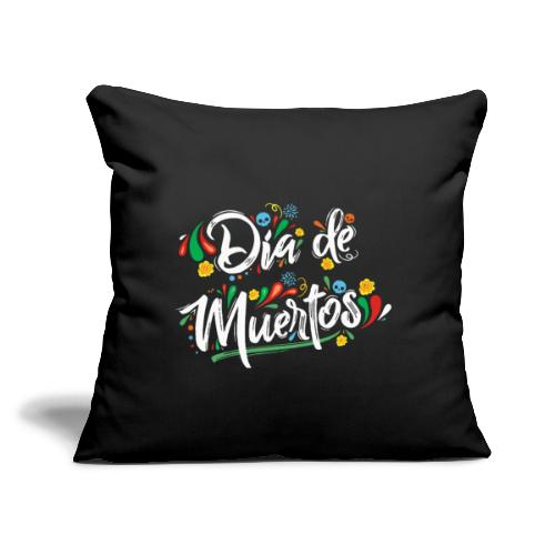 "dia de muertos - Throw Pillow Cover 17.5"" x 17.5"""