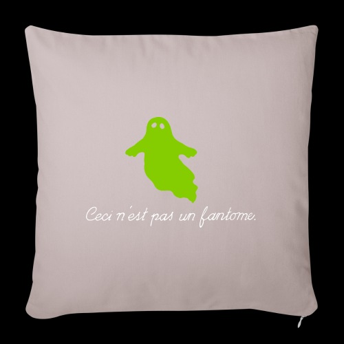 "A Treachery of Ghosts - Throw Pillow Cover 17.5"" x 17.5"""