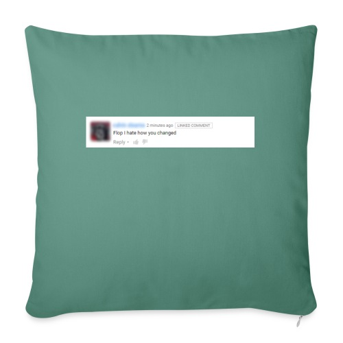 "floooooop png - Throw Pillow Cover 17.5"" x 17.5"""