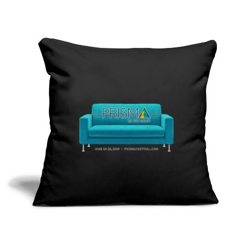 """Teal Couch - Throw Pillow Cover 17.5"""" x 17.5"""""""