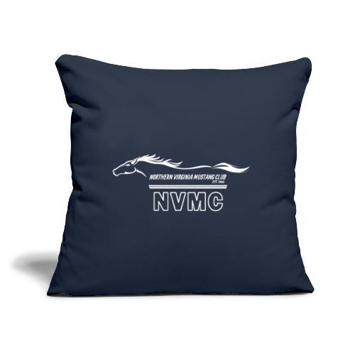 """White logo - Throw Pillow Cover 17.5"""" x 17.5"""""""
