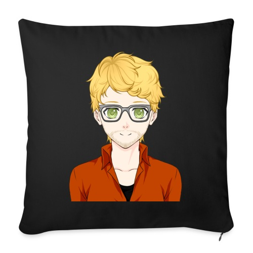 "2 png - Throw Pillow Cover 18"" x 18"""