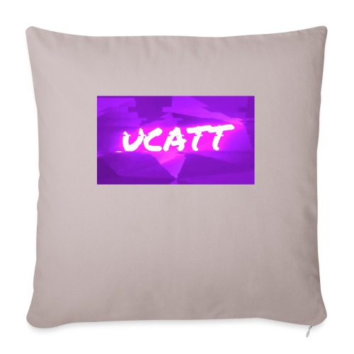 "UCATT Logo - Throw Pillow Cover 17.5"" x 17.5"""
