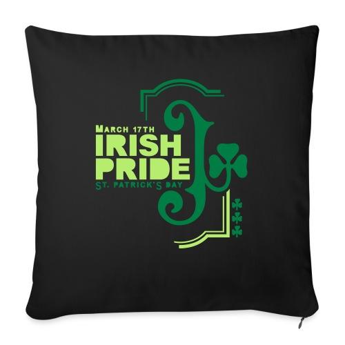 "IRISH PRIDE - Throw Pillow Cover 17.5"" x 17.5"""