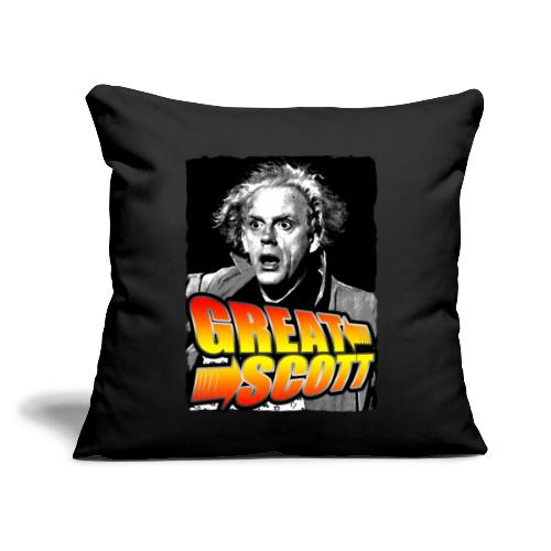 "Great Scott Doc - Throw Pillow Cover 17.5"" x 17.5"""