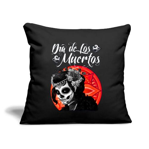 "Dia de Los Muertos 01 - Throw Pillow Cover 17.5"" x 17.5"""