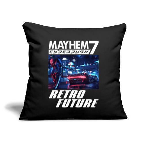 """M7 Cyberpunk - Throw Pillow Cover 17.5"""" x 17.5"""""""