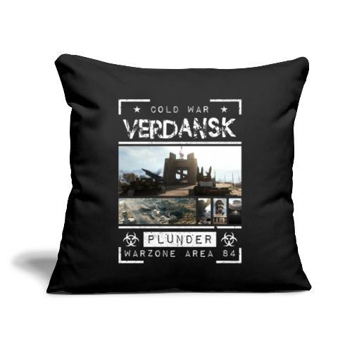 "Verdansk Plunder - Throw Pillow Cover 17.5"" x 17.5"""