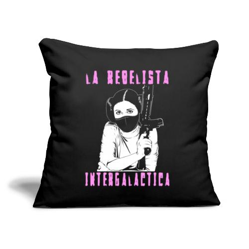 "La Rebelista - Throw Pillow Cover 17.5"" x 17.5"""