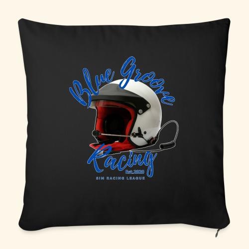 "BGR Helmet - Throw Pillow Cover 17.5"" x 17.5"""