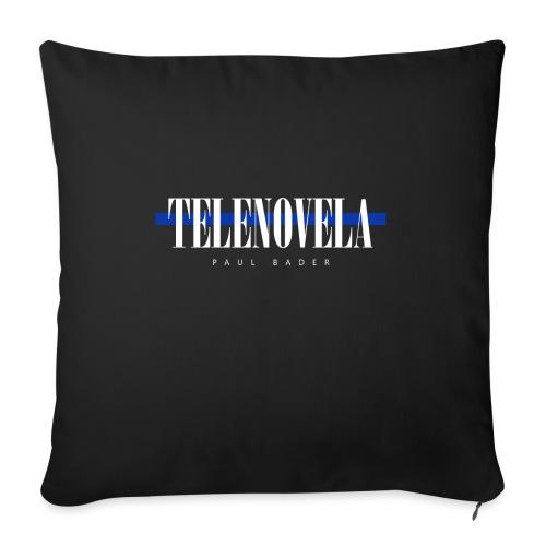 "Telenovela - Throw Pillow Cover 17.5"" x 17.5"""